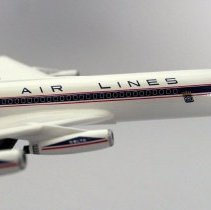 Image of Delta Convair 880, N8808E Model Airplane