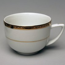 Image of Delta First Class Cup and Saucer - 1992-1998