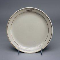 "Image of Delta ""Signature-Ivory"" Salad Plate - 1985-1992"