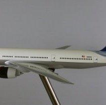 Image of Delta Boeing 777-232ER, N863DA, Ship 7004 Model Airplane - ca. 2000-2004