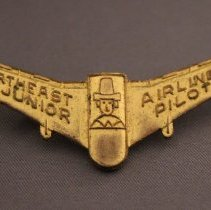 Image of Northeast Airlines Junior Pilot Kiddie Wings - 1950s