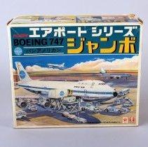 Image of Bandai Airport Series Boeing 747 Pan Am - 1970s?