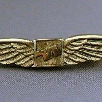 Image of Western Flight Attendant Wings - 1977-1987