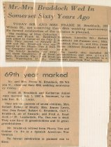 Image of undated anniversary clippings