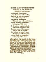 Image of The Crimson Flower in Flanders Fields   poem about Gray