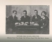 Image of 1913 Newark High School Yearbook