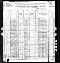 Image of 1880 Federal Census