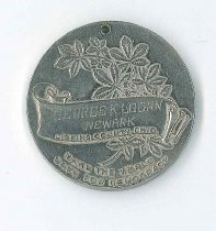 Image of County medal back