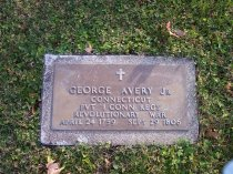 Image of Avery Jr, George  Collection - Veteran record