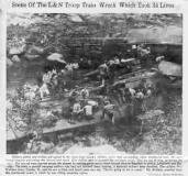 Image of Jellico Tenn Train Wreck 7-6-1944_tn