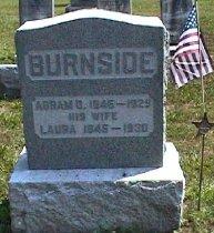 Image of Abram D Burnside Collection - Veteran record