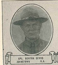 Image of Benton Sines Collection - Veteran record