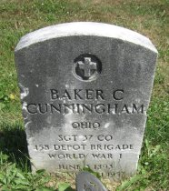 Image of Baker Clair Cunningham Collection - Veteran record