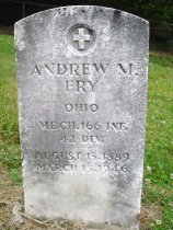 Image of Andrew M Fry Collection - Veteran record