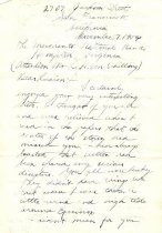 Image of 1968.1.123 - Letter of 1954 from Phillip Booker to L. H. von Schilling on 1900 Norfolk streetcar strike
