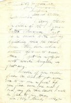 "Image of 1968.1.124 - 1954 Phillip Booker letter on Company ""D""'s role in Norfolk streetcar strike"