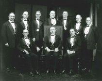 Image of 2009.15.2094 - Bermon Lodge, Masonic officers