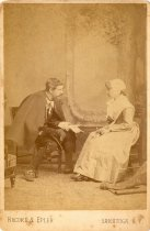 Image of 2008.52.21 - Charles and Jessie Hewins in Period Clothing