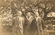 Image of 2008.52.25 - Charles Hewins with his brothers, Lyman and Walter