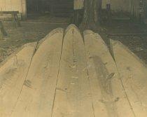 Image of 2008.63.12 - Log Canoe Construction Process