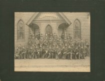Image of 1966.5.2 - 1900 Photograph of Hampton's Co. D 71st Virginia Infantry