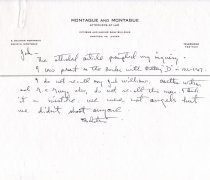 Image of 1984.79.1 - Letter from E. Sclater Montague challenging Battery D incident report
