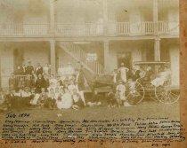 Image of 1985.33.1 - Group Photo - Buckroe, July 1894