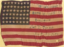 Image of 1986.31.82 - Battery D Souvenir Flag