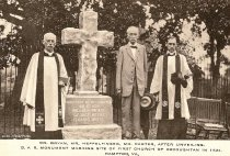 Image of 1968.1.31 - Monument Unveiling at Kecoughtan Church Second Site