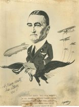 Image of 1995.3.19 - Charles H. Danforth authographed caricature