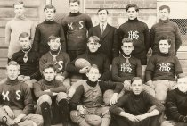 Image of 1997.3.147a - Hampton High School Football team - 1908