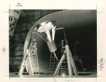 Image of 1997.3.211 - Mercury Capsule in Full Scale Tunnel