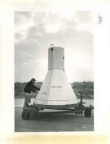 Image of 1997.3.214 - Capsule Model at Wallops Island