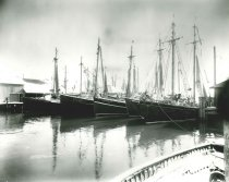 Image of 2009.15.6395 - L. M. Newcomb Fishing Fleet