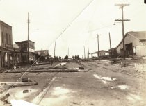 Image of 2009.2.6 - Damage on Bay Avenue - 1933 Hurricane