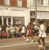 Image of X.61.2 - Parade on West Queen Street - Phenix School Majorettes