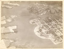 Image of 2000.8.75 - Lafayette River, Norfolk - Aerial View