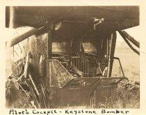 Image of 2007.81.24 - Pilot's Cockpit - Keystone Bomber (Crash Wreckage?)