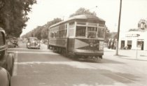 Image of 1982.20.15 - Street Car #324 at Unidentified Location