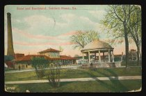 Image of 1991.6.11 - Store and Bandstand, Soldiers Home, Va.