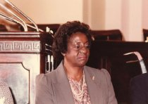 Image of Lillian E. Johnson at Congressional Award ceremony.