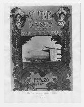Image of 1987.18.143 - Souvenir Dance Program Cover