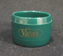 Image of 1987.50.3 - Napkin ring from Victor's Restaurant