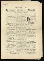 Image of 66.456 - Hampton Graded School Record
