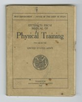 Image of 1984.60.8 - Extracts from Manual of Physical Training for use in the United States Army