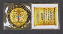 Image of 2015.22.22 - Hampton 400th anniversary commemorative coin