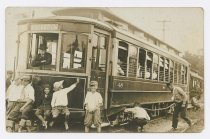 Image of CC2015.16.27 - Buckroe trolley no. 48