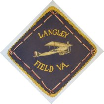 Image of X.1247.1 - Langley Field banner