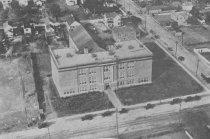 Image of 2009.15.6760 - Aerial view of Hampton High School