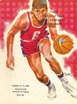 Image of 2015.26.10 - Program for Virginia High School League Basketball Tournament, 1969